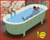 !@ Animated bathtub