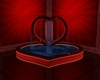 B. Hearts fountain anim