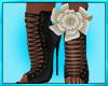 Left Ankle Flower