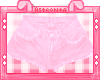 Pink Denim Shorts RLL