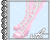 Katherine Boots~ Pink I