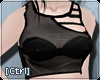 |C| CutOut Black Plastic