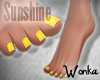 W° TippyToe Feet ~Sun.