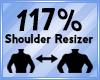 Shoulder Scaler 117%