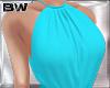 Turquoise Retro Top
