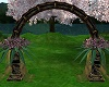 Wedding Arch pk and blk