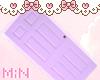 ♡ My purple door