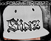 WHITE SINZ SNAPBACK (R)