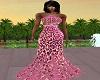 BMM Pink Leopard Gown