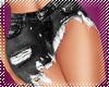 ! black jean skirt RL