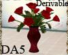 (A) Red Rose Vase