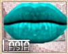 L~ Lupita Mesh LIPS TEAL