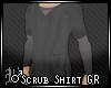 ♂Scrub Shirt GR