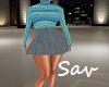 Preppy Skirt Set