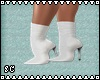 SC WHITE SHORT BOOTS