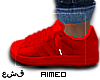 Dem' Neon Red