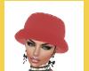 RED BUCKET HAT