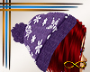 [CFD]H15 Snow Hat Purple