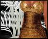 Gold Gala Dress