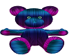 Blue and Purple Bear