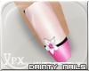 .xpx. Pink Petal Nails
