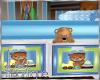 BABY TEDDY BLANKET BENCH
