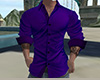 Slim Purple Shirt (M)