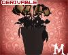Dead Roses vase DRV