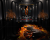 Flaming Guitar Booth