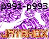 CHAINBOX-PURPLE DJ LIGHT
