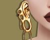 Gold Ear Earrings