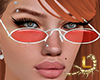 !A!Glasses Loly Red