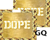 Plated Gold Name  DOPE