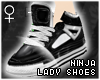 !T Ninja lady shoes