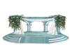 Ice wedding arch poses