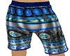 Blue Hawaiian Shorts