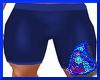 Blue Tight Shorts