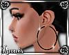 Hoop Earrings black