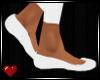 *GD* Ballet Flats~Wht|M|