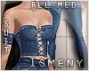 [Is] Denim Suit RLL Med