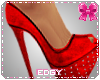 !E! Louboutins Red