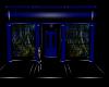 Blue Black Pvc Room