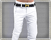 White Pants w/gold