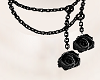 Dark Rose Necklace