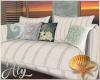Ocean Blue Sofa