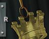 Gold Crown Anklet [R]