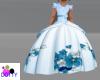 cinderella blue gown kid