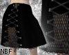 Laced mesh skirt