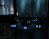 Blk Marble Meeting Table