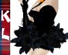 black swan ballet dress